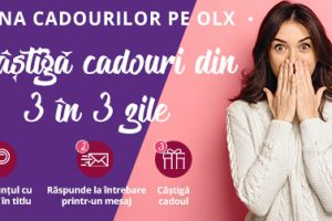"""REGULAMENTUL CAMPANIEI CU PREMII""""Luna cadourilor pe OLX"""" organizata de OLX Online Services SRL"""